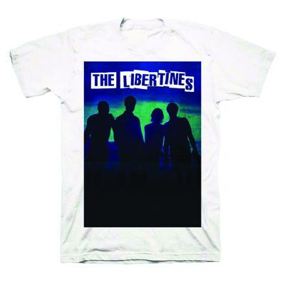 The Libertines: The Libertines Album White T-Shirt