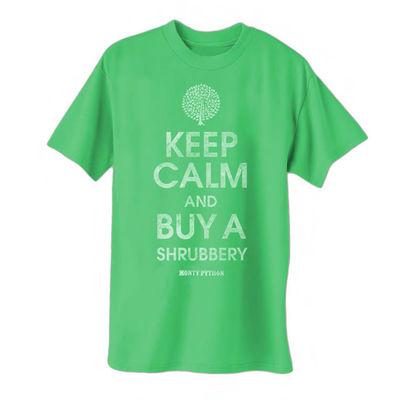 Monty Python: Shrubbery Green T-Shirt
