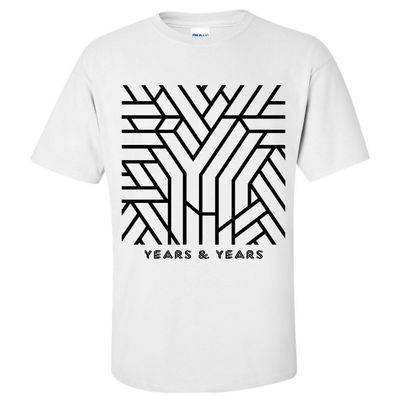 Years & Years: White Communion T-Shirt