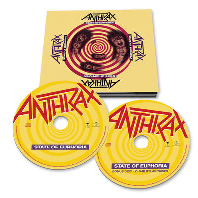 Anthrax: State Of Euphoria - 30th Anniversary