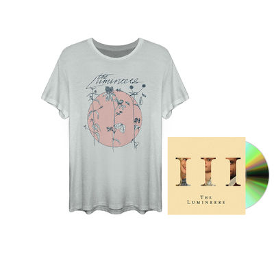 The Lumineers: CD & t-shirt