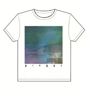 Binary: Binary White T-Shirt