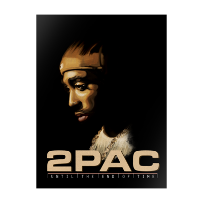 2Pac: UNTIL THE END OF TIME LITHO