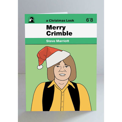Steve Marriott: Steve Marriott Christmas Card