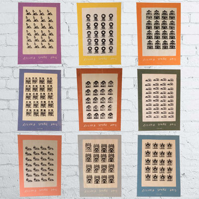 The Maccabees: The Maccabees Fabric Print