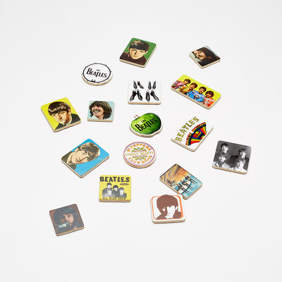 Abbey Road Studios: The Beatles Wooden Magnetic Set