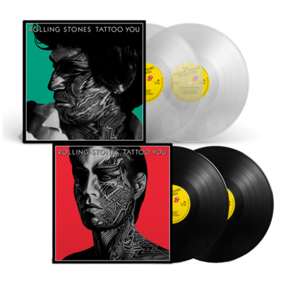 The Rolling Stones: TATTOO YOU: 2LP BUNDLE