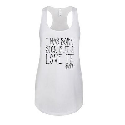 hozier: Born Sick Lyrics Tank White