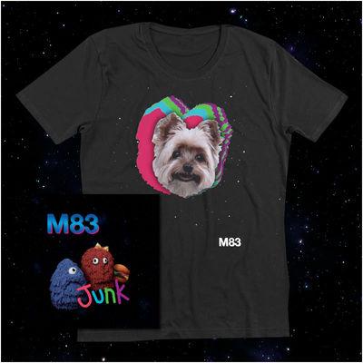 M83: Junk CD + T-Shirt