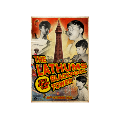 The Lathums: Blackpool Poster