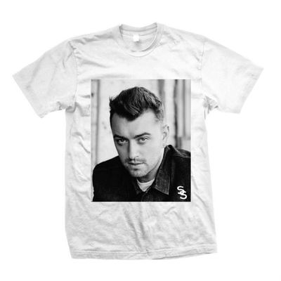 Sam Smith: White Photo T-Shirt