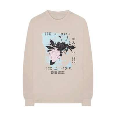Shawn Mendes: Floral Longsleeve T-Shirt