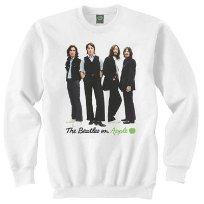 The Beatles: Iconic Image Mens Sweatshirt