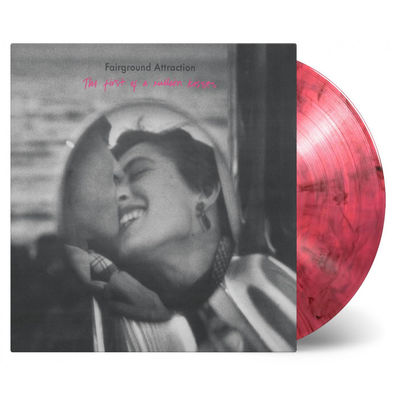 Fairground Attraction: First Of A Million Kisses: Red and Black Mixed Numbered Vinyl