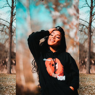 Stefflon Don: SECURE TOUR HOODIE - BLACK