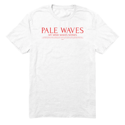 Pale Waves: Track List T-Shirt - S