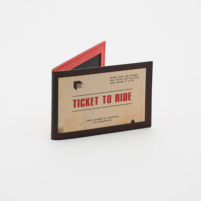 The Beatles: Leather Oystercard Holder - Ticket To Ride