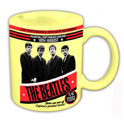 The Beatles: The Beatles 1962 'Live Performance With New Drummer' Boxed Mug