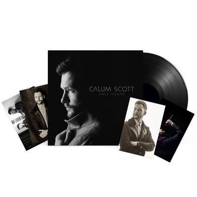 Calum Scott: SIGNED LP & 4 x Photo Prints & a personally handwritten note