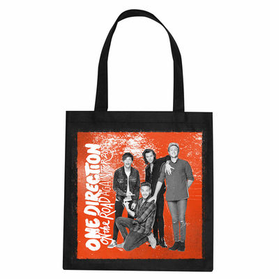 One Direction: On the Road Again Tour Tote Bag