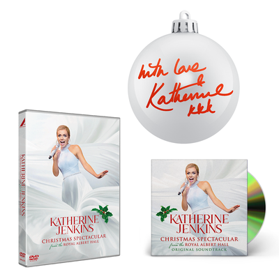Katherine Jenkins: Christmas Spectacular Signed CD, DVD & Bauble Bundle