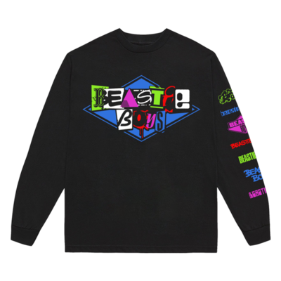 Beastie Boys: <b>MULTI-LOGO LONG SLEEVE SHIRT</b>