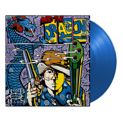 Bomb The Bass: Into The Dragon: Numbered Blue Vinyl