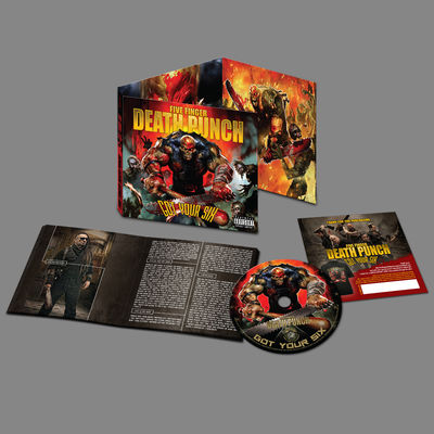 Five Finger Death Punch: Got Your Six Deluxe CD Album
