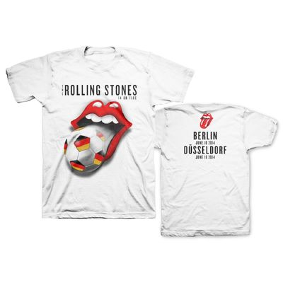 The Rolling Stones: Germany World Cup Limited Edition Event T-Shirt