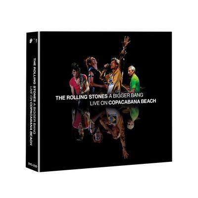 The Rolling Stones: 'A Bigger Bang' Live On Copacabana Beach: SD Blu-ray 4-disc Set