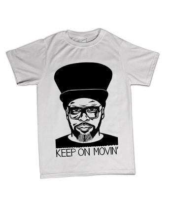 Virgin 40: Limited Edition Ted Draws Jazzie B T-Shirt Large
