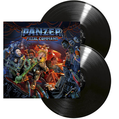 PANZER: Fatal Command: Limited Edition Double Gatefold Vinyl + Signed Insert
