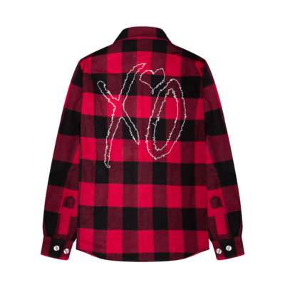 The Weeknd: XO CLASSIC LOGO II FLANNEL
