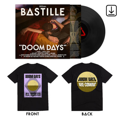 Bastille: Doom Days LP, Digital and Black Tee Bundle