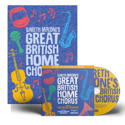 Gareth Malone: Gareth Malone's Great British Home Chorus CD & Poster Bundle