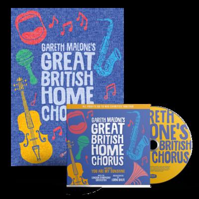 Gareth Malone: Gareth Malone's Great British Home Chorus CD & Poster Bundle