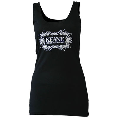 Keane: Hopes And Fears Ladies Vest (Black)