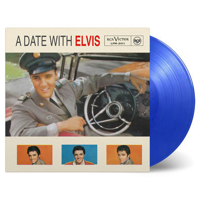 Elvis Presley: A Date With Elvis: 60th Anniversary Edition Translucent Blue Vinyl