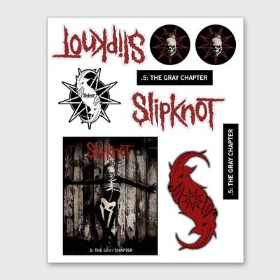 Slipknot: The Gray Chapter Sticker Set 2