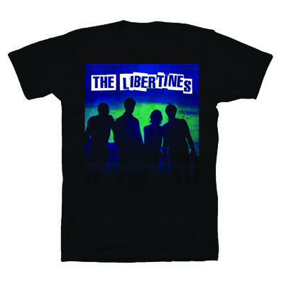 The Libertines: The Libertines Album Black T-Shirt