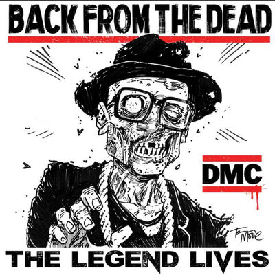 DMC Darryl McDaniels: Back From The Dead: The Legend Lives: Red Numbered Vinyl