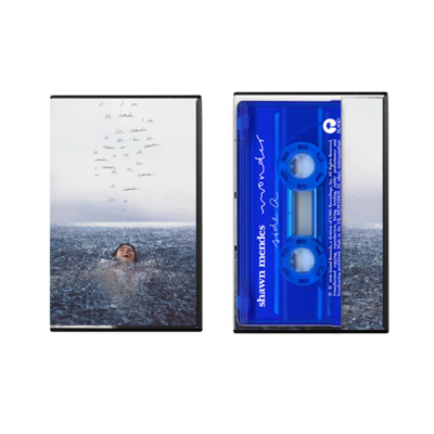 Shawn Mendes: Wonder UK exclusive Limited Edition Blue Cassette