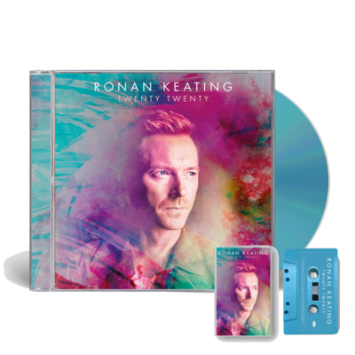 Ronan Keating: SIGNED Twenty Twenty CD and Cassette Bundle