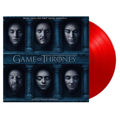 Original Soundtrack: Game Of Thrones Season 6 (Red Tour Edition): Limited Edition Red Vinyl