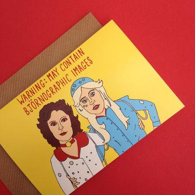 Abba: Abba Greetings Card