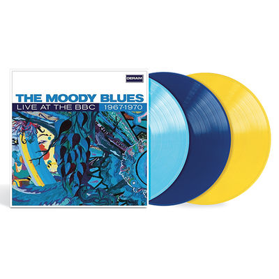 The Moody Blues: Live At The BBC 1967-1970: Limited Edition Blue and Yellow Vinyl