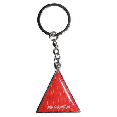 One Direction: One Direction Triangle Keyring