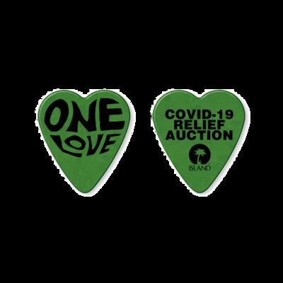 Island Records: ONE LOVE CHARITY PLECTRUM