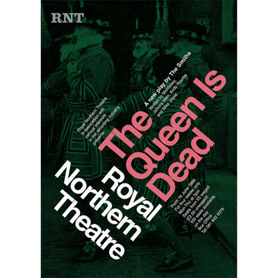 The Smiths: 'The Queen Is Dead' Theatre Poster Print: The Plays of Morrissey and Marr