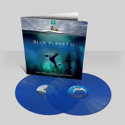 Hans Zimmer: Blue Planet II OST: Numbered Transparent Blue Vinyl LP